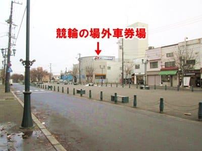 函館競輪の場外車券場