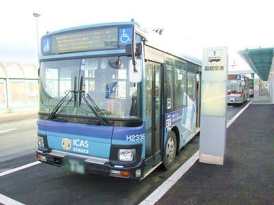 函館空港1番乗り場のバス停