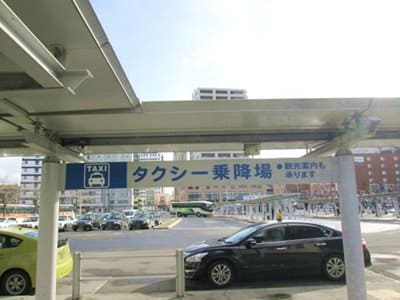 函館駅前タクシー乗り場