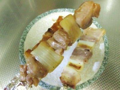 ハセスト特製やきとり鶏肉串