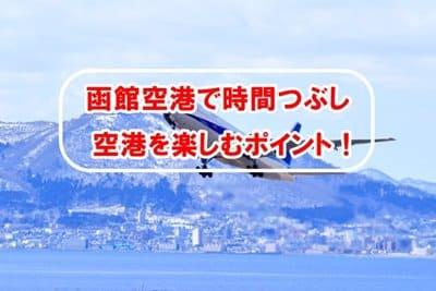 函館空港で時間つぶし空港を楽しむポイント!