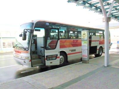 函館空港から出ているシャトルバス