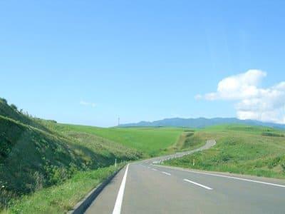 ドライブ中の景色