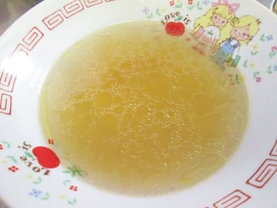 函館麺や一文字お土産用ラーメンのスープ
