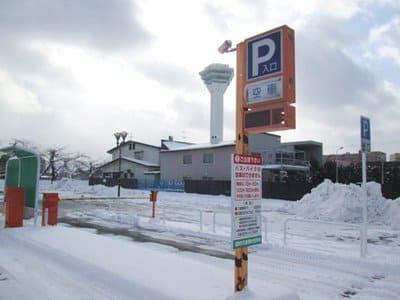五稜郭観光駐車場