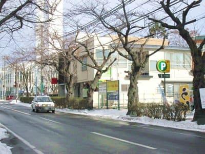 三井のリパーク函館五稜郭公園前駐車場