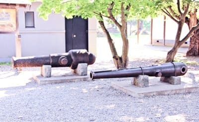 五稜郭公園の大砲