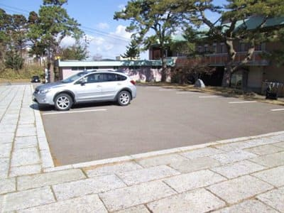 函館護国神社の駐車場